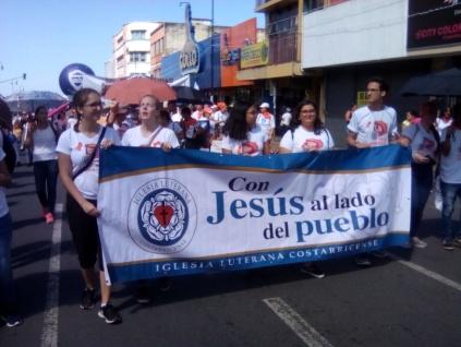 Marcha NO violencia jovenes