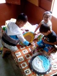 La Esperanza kids' xmas party 1